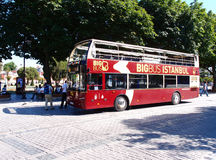 Sightseeing bus Stock Photo