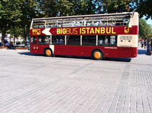 Sightseeing bus Royalty Free Stock Photos