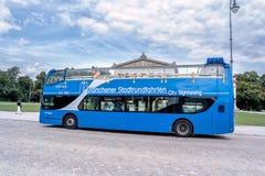 Sightseeing bus in Munich Stock Photo
