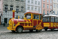 Sightseeing car train Stock Photos