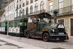 Sightseeing car train in Tomar Stock Photos