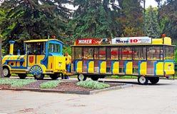 Sightseeing car train in Vinnytsia, Ukraine Stock Photography