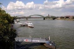 Sightseeing Cruise on the Rhine Royalty Free Stock Photos