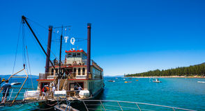 Sightseeing cruise Tahoe Queen in Lake Tahoe Stock Images