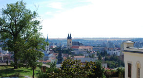 Sightseeing de Nitra, Bratislava Foto de Stock
