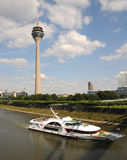 Sightseeing Dusseldorf - Royalty Free Stock Photography