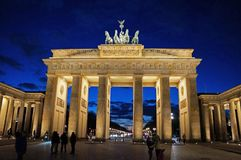 Sightseeing em Berlim Fotos de Stock Royalty Free