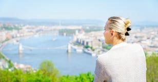 Sightseeing em Budapest Fotos de Stock