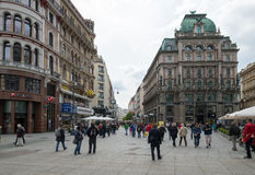 Sightseeing em Viena imagem de stock