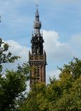 Historic town of Edam - Origin of the famous Edamer Cheese royalty free stock photo
