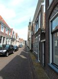 Historic town of Edam - Origin of the famous Edamer Cheese stock photo