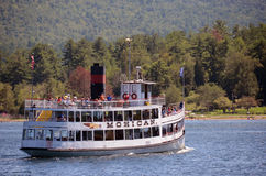Sightseeing on Lake George, New York State Royalty Free Stock Photo