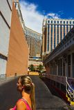 Sightseeing in Las Vegas Stock Image