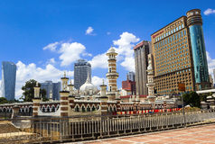 Sightseeing Masjid in KKuala Lumpur Royalty Free Stock Images