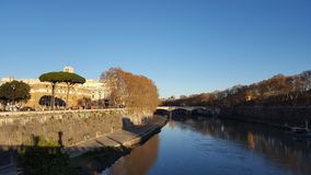 Sightseeing of Rome. At Italy Royalty Free Stock Images