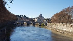 Sightseeing of Rome. At Italy Royalty Free Stock Image