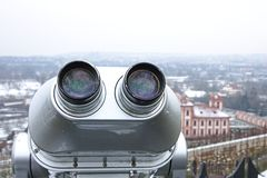 Sightseeing telescope Royalty Free Stock Image