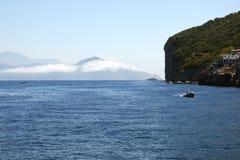 Sightseeing tour around the island of Capri Royalty Free Stock Photo