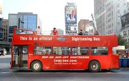 Sightseeing Tour Bus Stock Photo