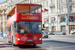 Sightseeing tour bus Royalty Free Stock Photography