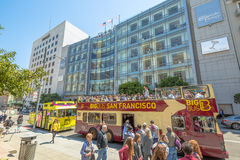 Sightseeing Tour in San Francisco Royalty Free Stock Images