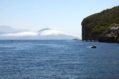 Sightseeing-Tour um die Insel von Capri Lizenzfreies Stockfoto