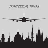 Sightseeing Tours Royalty Free Stock Photography