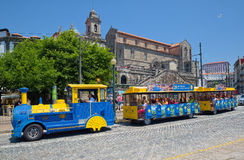 Sightseeing Train carries children Royalty Free Stock Photo