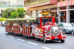 Sightseeing train in Monaco Royalty Free Stock Photos