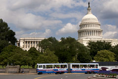 Sightseeing at US Capitol Royalty Free Stock Photos