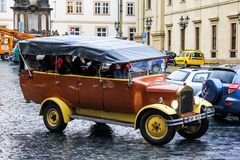 Sightseeing vehicle Royalty Free Stock Photos
