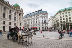 Sightseeing in Vienna Royalty Free Stock Photography