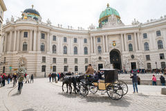 Sightseeing in Vienna Royalty Free Stock Photos