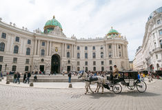 Sightseeing in Vienna Royalty Free Stock Images