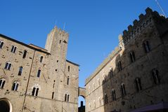 Sightseeing in Volterra, a city Stock Photography