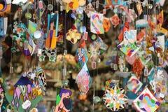Sightseeings города Барселоны, Испания все имеющееся резерва сделанное большинств устрицами starfishes сувенира магазина seashell Стоковое Фото