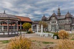 Sightseeingsreis door Slechte Salzungen royalty-vrije stock foto's