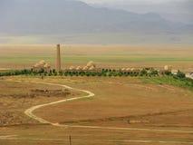 Sightseengs de Turkmenistan - baba de Meana images stock