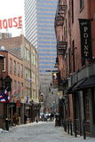 Sightseers along the Freedom Trail,Boston,2014 Royalty Free Stock Photos