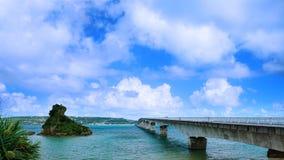 Sightsikt av den Kouri bron Royaltyfri Foto