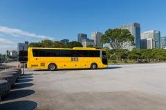 Sightstaden turnerar med bussen Arkivfoton