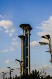 Sighttorn för fem cirklar, Peking Royaltyfria Foton
