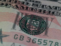 Sigilli dai $50 Bill 1 Immagini Stock