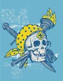 Sigillo il pirata illustrazione di stock