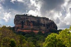 Sigiriya岩石 图库摄影