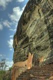 Sigiriya,斯里南卡-狮子的岩石,岩石堡垒 免版税图库摄影