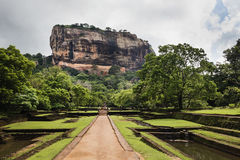 Sigiriya, Шри-Ланка Стоковое Фото
