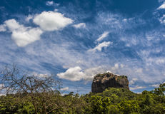 Sigiriya, Dambulla Sri Lanka. Sigiriya (Lion Rock) is an ancient rock fortress located in the central Matale District near the town of Dambulla in the Central Royalty Free Stock Image