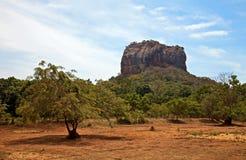 Sigiriya-Felsen Lizenzfreies Stockfoto