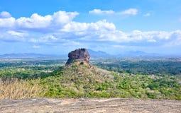 Sigiriya-Felsen-Festung Lizenzfreie Stockbilder